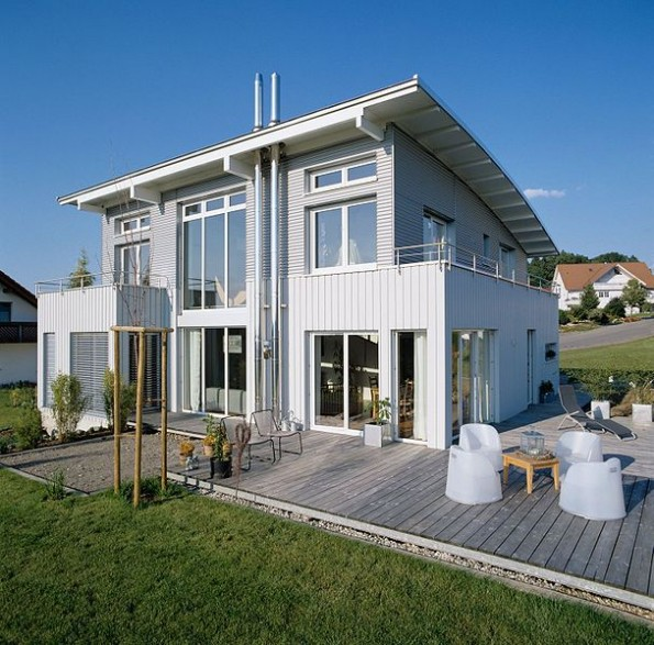 Einfamilienhaus in Holzbauweise